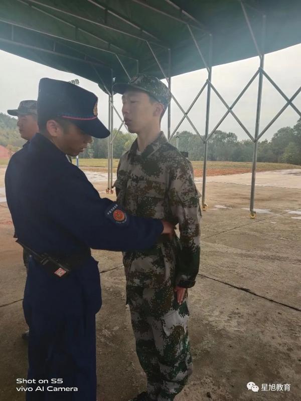 2020第一期专职消防员训练营 学员训练
